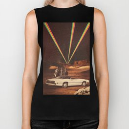 Take us to your leader Biker Tank