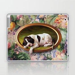 A small joke with a dog Laptop & iPad Skin