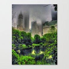New York Central Park  Canvas Print