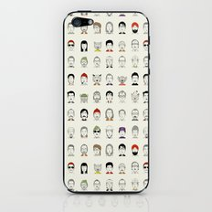 The Characters of W iPhone & iPod Skin