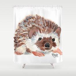 Hedgehog named Harriet Shower Curtain