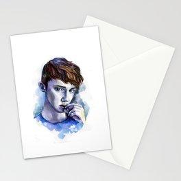 troye boy Stationery Cards