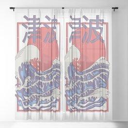 Tsunami Sheer Curtain
