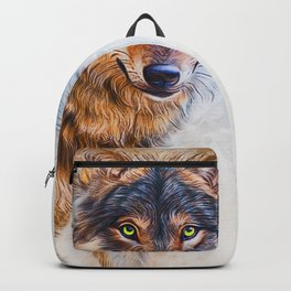 Timber Wolf Backpack