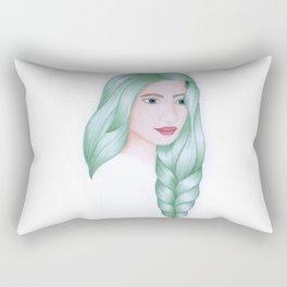 Hair III Rectangular Pillow