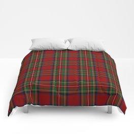 The Royal Stewart Tartan Comforters