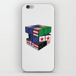 The U.S. Has No Dog In The Fight In Syria iPhone Skin