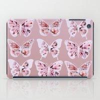 butterflies iPad Cases featuring Butterflies by Vickn