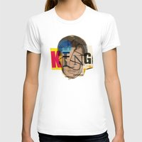 king T-shirts featuring King by Marko Köppe