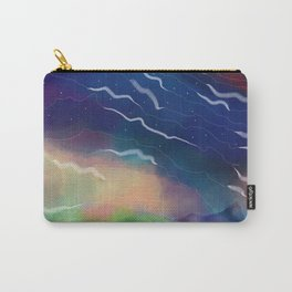 Cosmic Rose Carry-All Pouch
