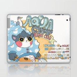 Aqua cat_Puno Laptop & iPad Skin
