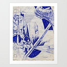 Nostalgic Dream/Tumbrils Art Print
