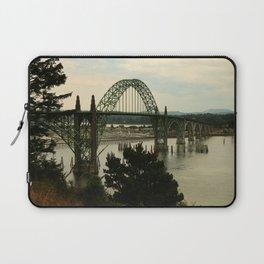 Yaquina Bay Bridge Laptop Sleeve