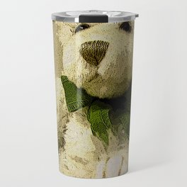 Daddy's Gift Teddy Bear Print Travel Mug