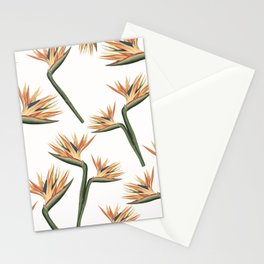 Birds of Paradise Flowers 2 Stationery Cards