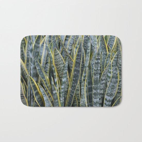 Snake Plants II Bath Mat