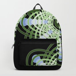 Spheres of Congruence (Black Light Version) Backpack