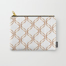 Double Helix - Rose Gold #676 Carry-All Pouch