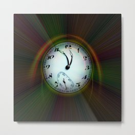 Magic of colors - Time is running out Metal Print