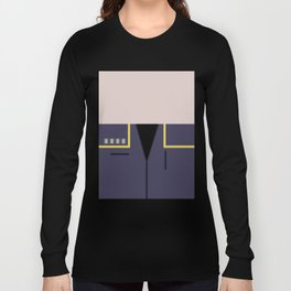 Jonathan Archer - Minimalist Star Trek: Enterprise ENT - Trektangle - startrek - USS Enterprise Long Sleeve T-shirt