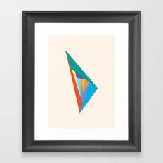 Oscillation Framed Art Print