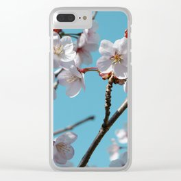 Blossom Floral Clear iPhone Case