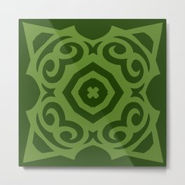 Super Green (Colored Callisto) Metal Print