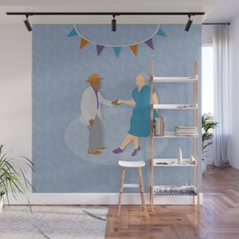 Dance Party Wall Mural