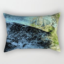STORMY BLUE EXPLOSION Rectangular Pillow
