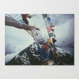 Nepales Mountains Photo Print Canvas Print
