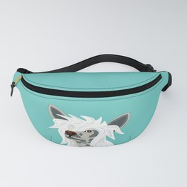 Chinese Crested Fanny Pack