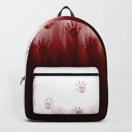 Terror Blood Hands Backpack