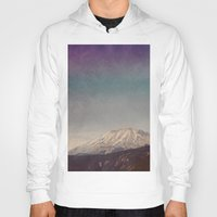 mountain Hoodies featuring Mountain by Leah Flores