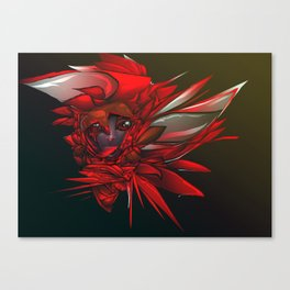 Wild Flower Z Canvas Print