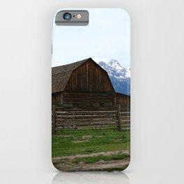 Mormon Row Iconic Barn iPhone Case