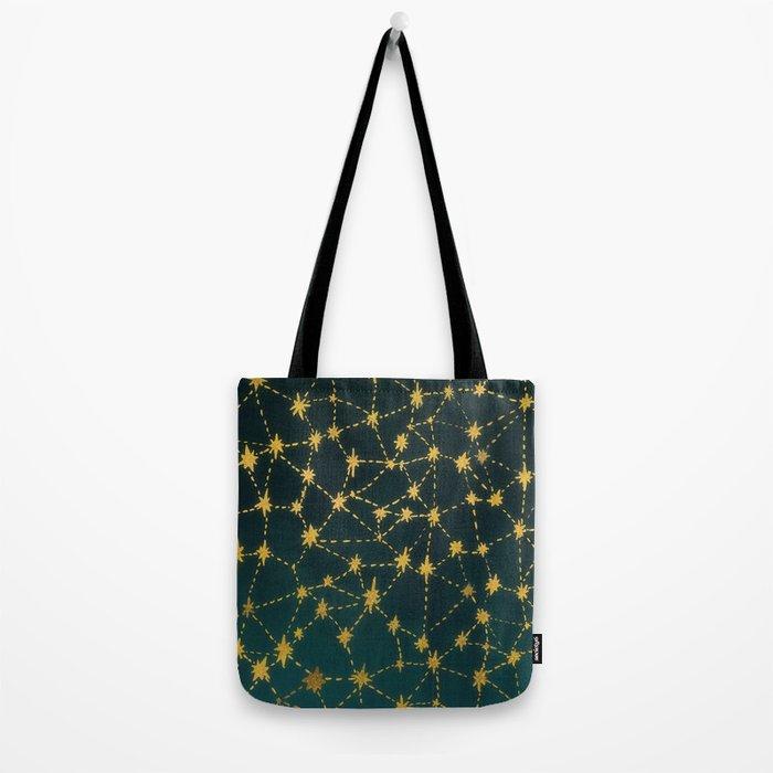 Stars Map Tote Bag