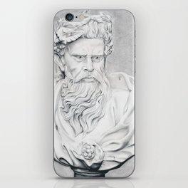 Zeus Bust Sculpture iPhone Skin