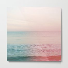 Pastel Sea Metal Print