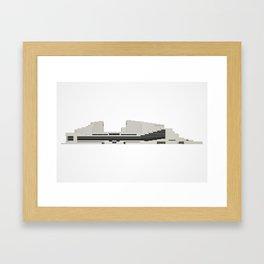 Brisbane Icons: Queensland Performing Arts Centre Framed Art Print