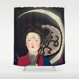 Mooneo Shower Curtain
