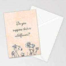 WILDFLOWER // ALICE IN WONDERLAND QUOTE Stationery Cards