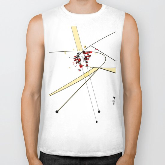 Phase Shifted Drift Biker Tank
