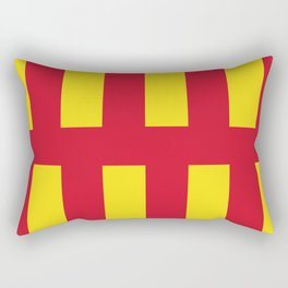 Northumberland county flag North East England region Rectangular Pillow