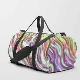Colorful Waves Duffle Bag