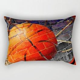 Basketball art swoosh 103 Rectangular Pillow