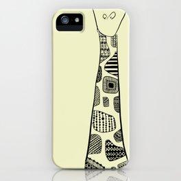Sleeping Giraffe! iPhone Case