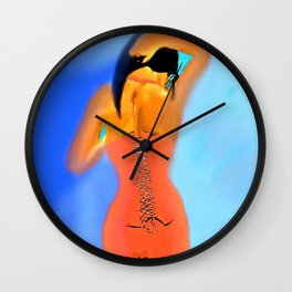 The Woman Who Never looked Back #2 Wall Clock