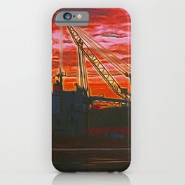 The Docks (Digital Art) iPhone Case