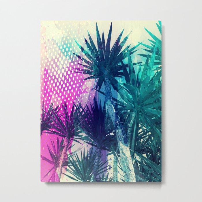 Tropical Explosion Metal Print