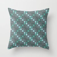 geo Throw Pillows featuring Geo by MICALI/ M J